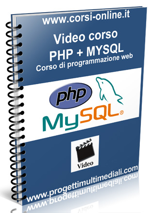 Video corso online PHP MYSQL