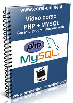 Video Corso online PHP + MYSQL