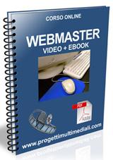 Corso online Webmaster