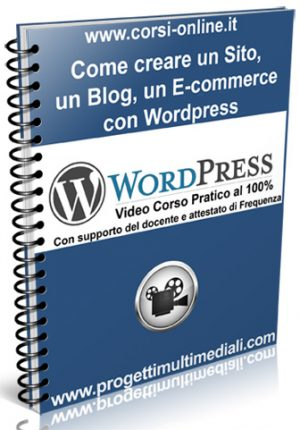 Video Corso WORDPRESS ▼
