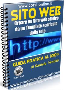 Creare un sito web statico da template scaricato dalla rete