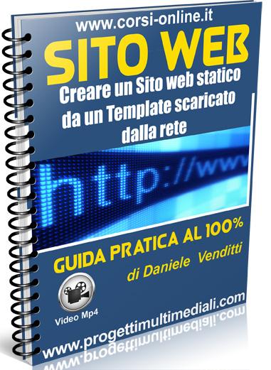 Creare un sito web statico partendo dal download di un template