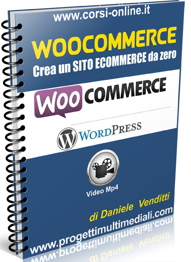 E-Commerce con il plugin Woocommerce per WordPress