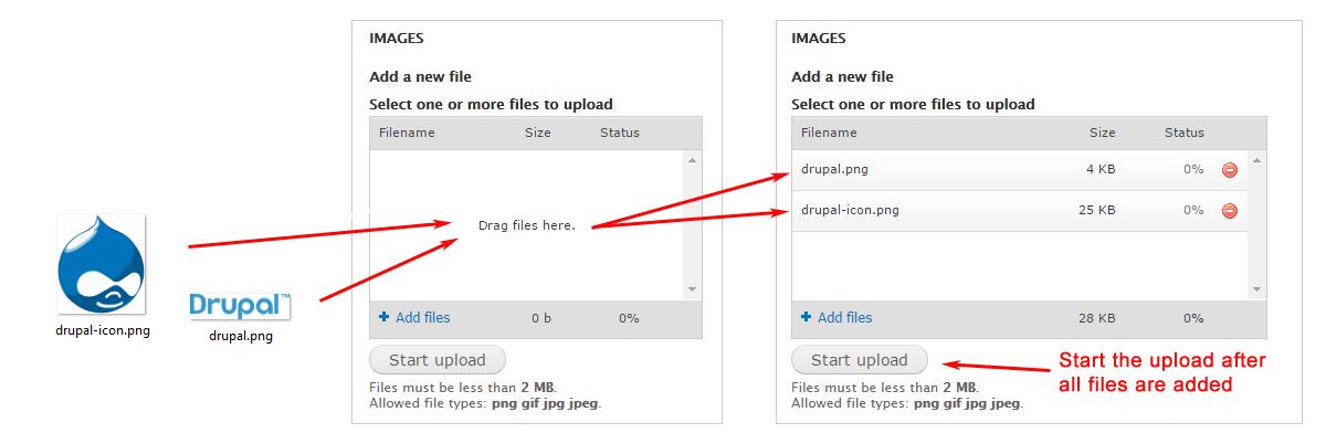 Drupal tutorial – Upload di più immagini