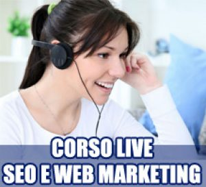 Corso SEO e Web Marketing online – Lezioni Skype