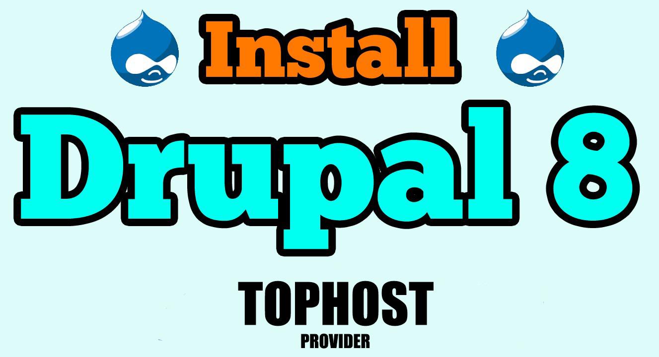 Installazione di DRUPAL 8 su server Tophost