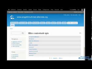Drupal 7 – Relazioni e filtri contestuali