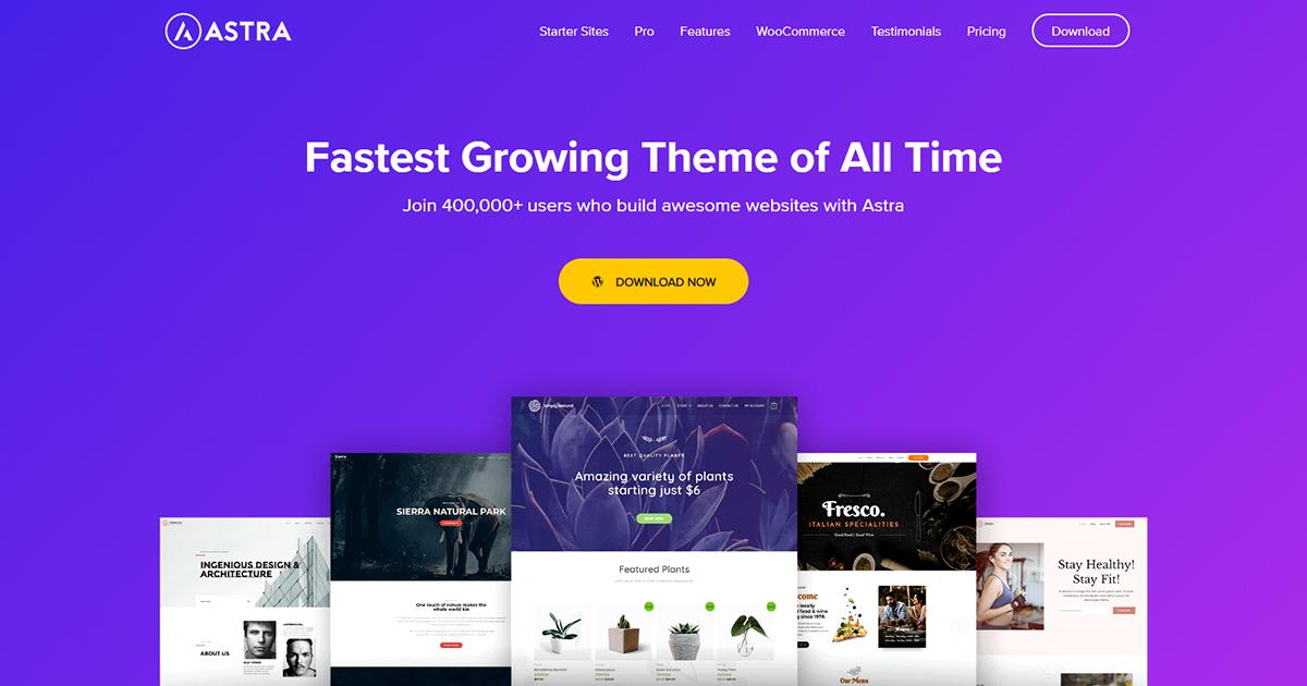 WordPress – Installazione Tema Astra
